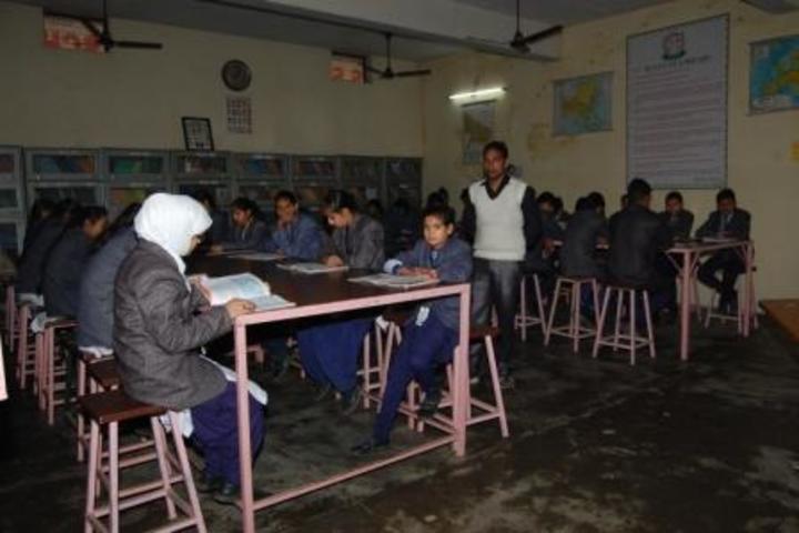 Shikhar Shiksha Sadan Higher Secondary School-Library