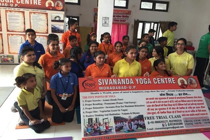Shirdi Sai Public School-Yoga Day
