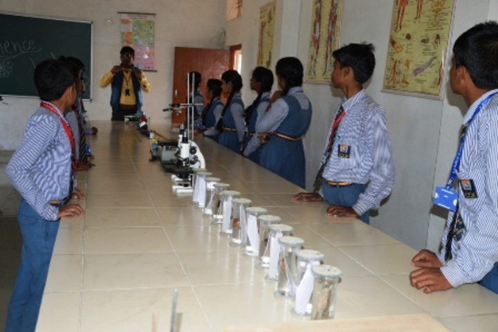 Shiv Shakti Public School-Science lab