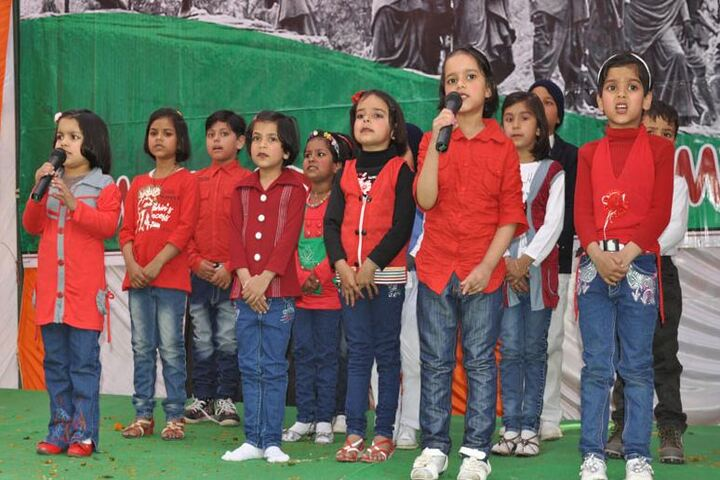 Shree Chandrasen Memorial Children Academy-Group Song
