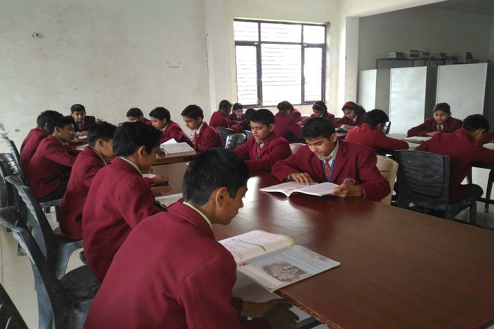 Shree Ji Public School-Library