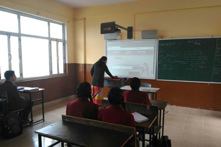 Shree Ji Public School-Smart Classroom