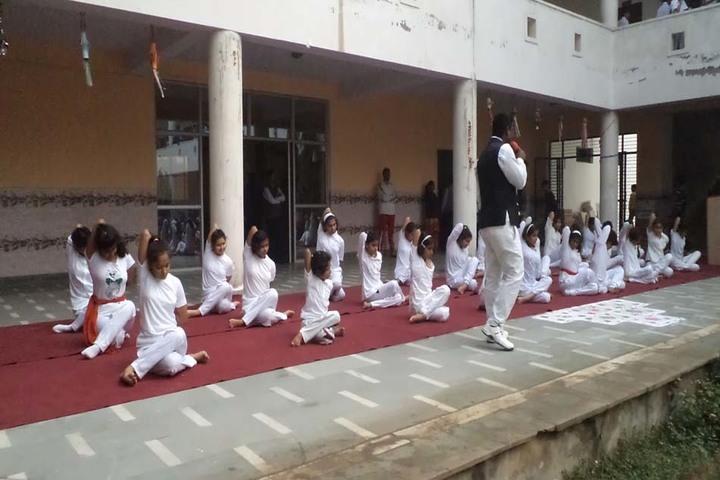 Shree Ji Public School-Yoga