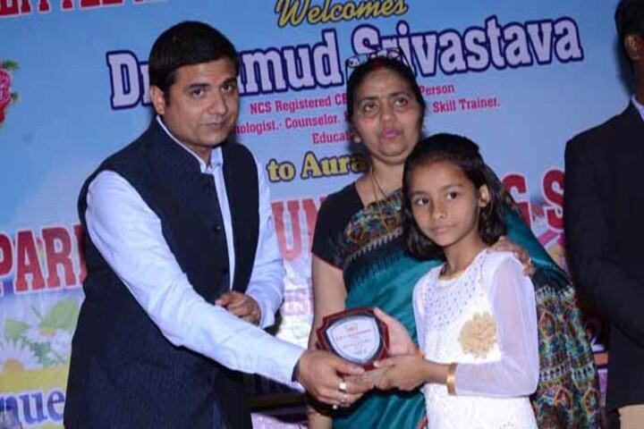 Shri Bhuvnesh Bhushan Sharma Smriti Vidyapeeth-Award Presentation