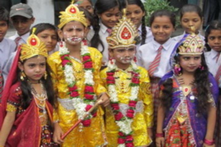Shri Bihari Lal Kushwaha Memorial Oxford English School-Janmasthami