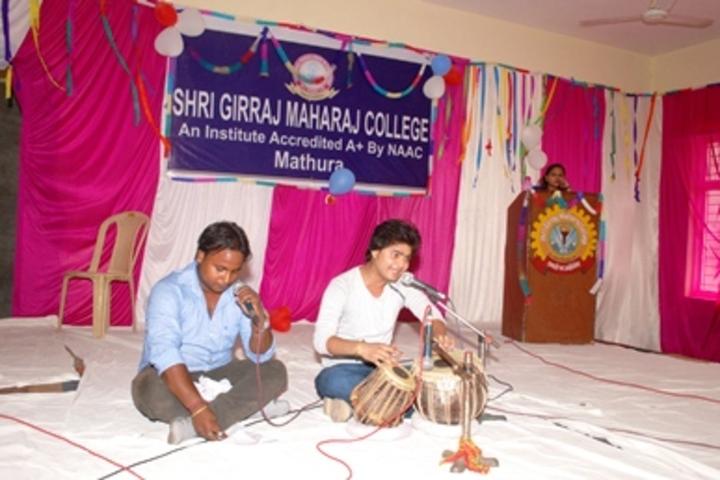 Shri Girraj Maharaj Global Public School-Instrumental Music