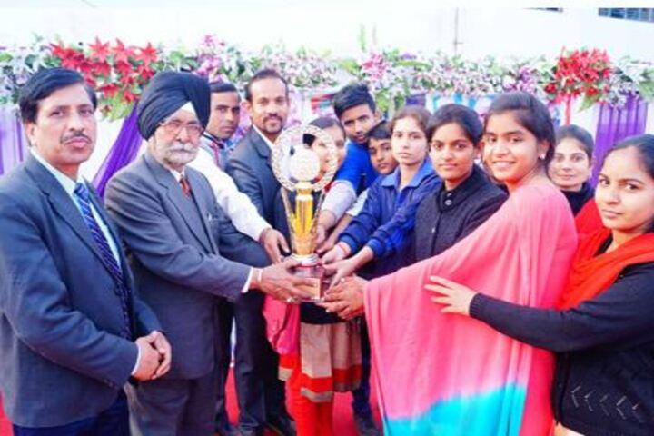 Shri Guru Teg Bahadur Public School-Award