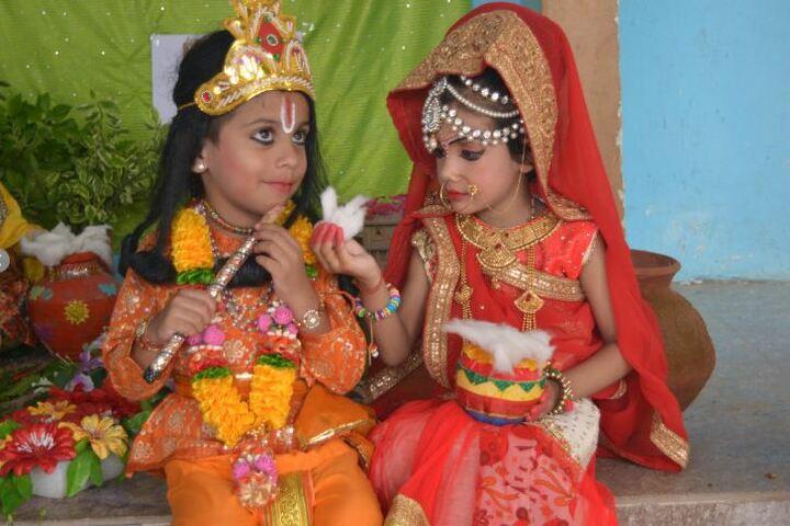 Shri Maha Prabhu Public School-Janmasthami Celebrations