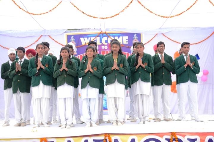 Shri Rajendra Giri Memorial Academy-Prayer Song