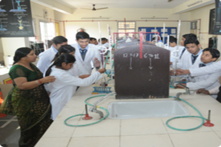 Shri Ram Swaroop Memorial Public School-Chemistry Lab