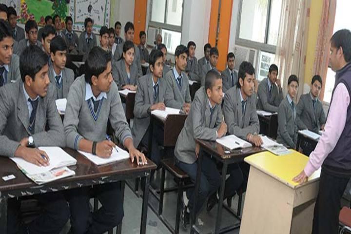 Shri Ram Swaroop Memorial Public School-Classroom