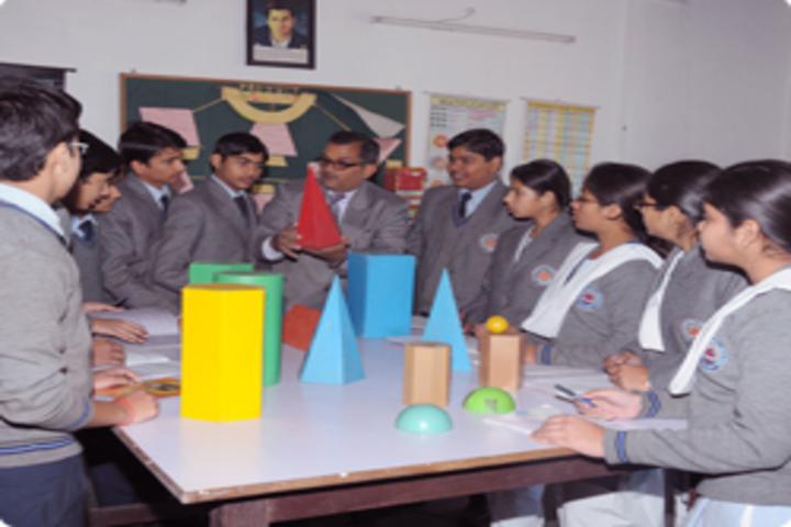 Shri Ram Swaroop Memorial Public School-Maths Lab
