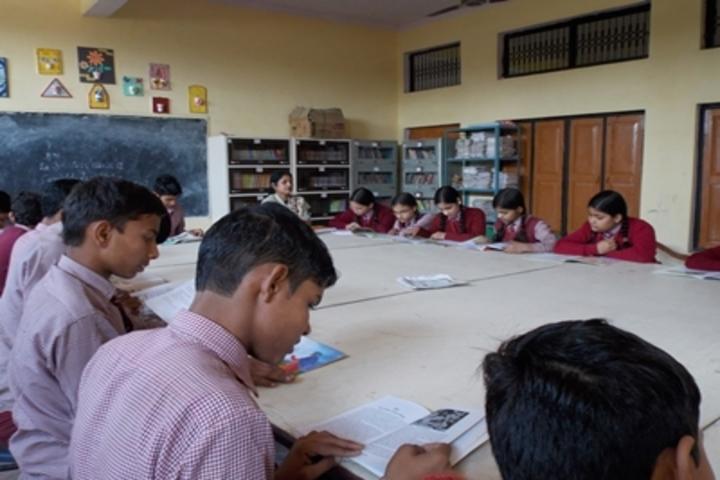 Shri Sai Public School-Library