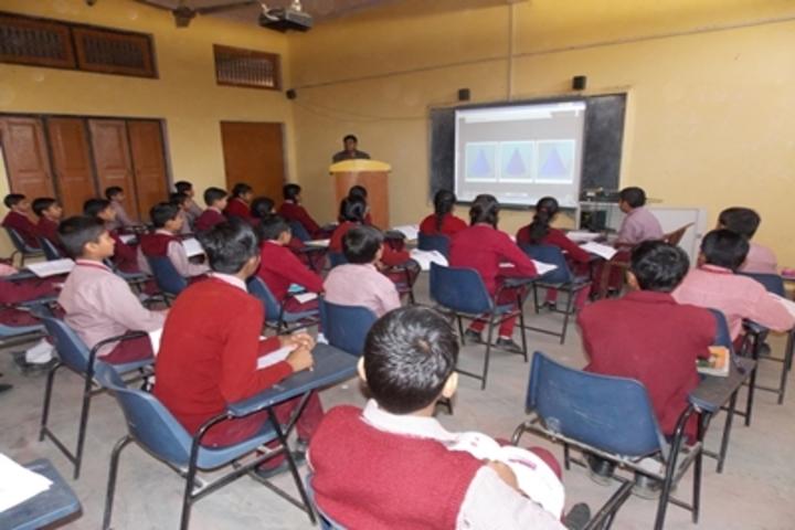 Shri Sai Public School-Smart Classroom