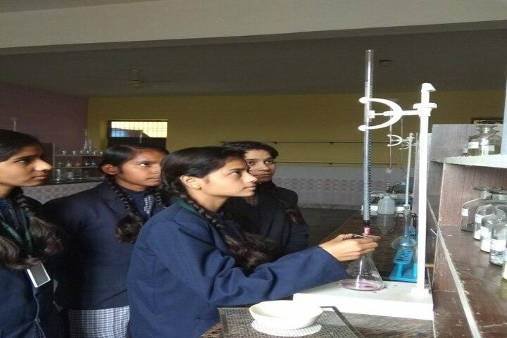 Shri Ji International School Mathura-Chimistry Lab