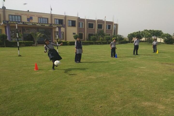 Shri Ji International School Mathura-Play Ground