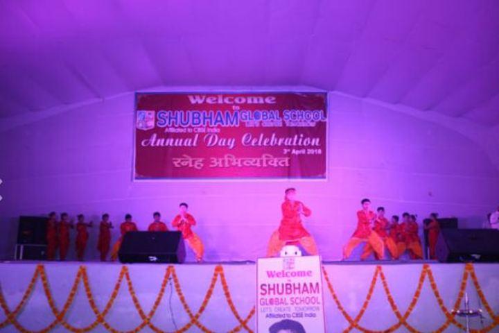 Shubham Global School-Dance Performance