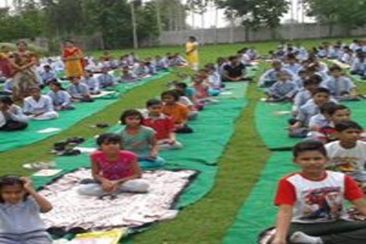 Silver Oak Public School-Yoga