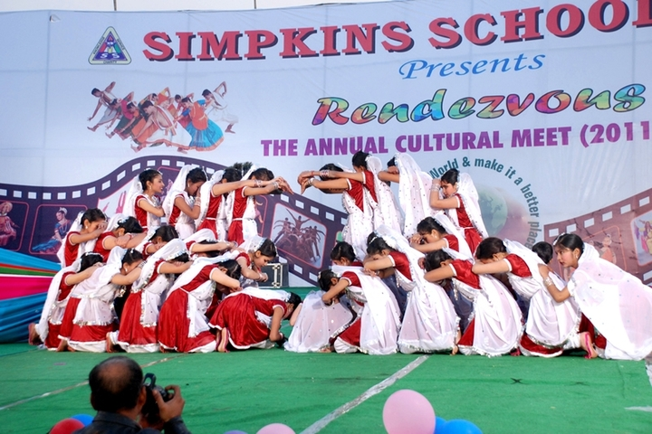 Simpkins School-Annual day