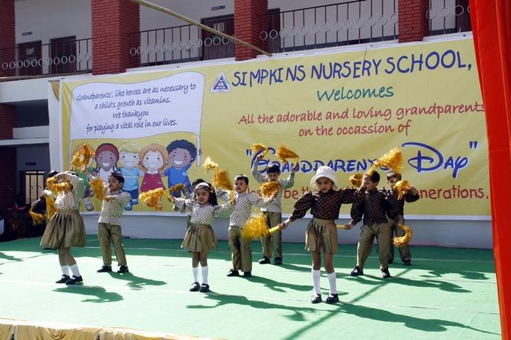 Simpkins School-Grand Parents Day