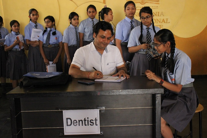 Singhania Educational Institute-Health Check Up