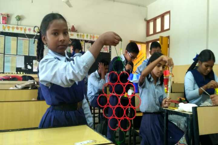 Government High School A Smart School-Art and Craft
