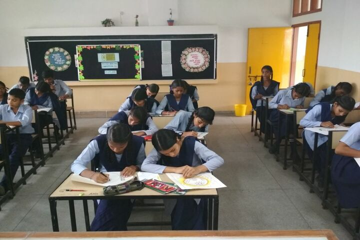 Government High School A Smart School-Poster Making Competition