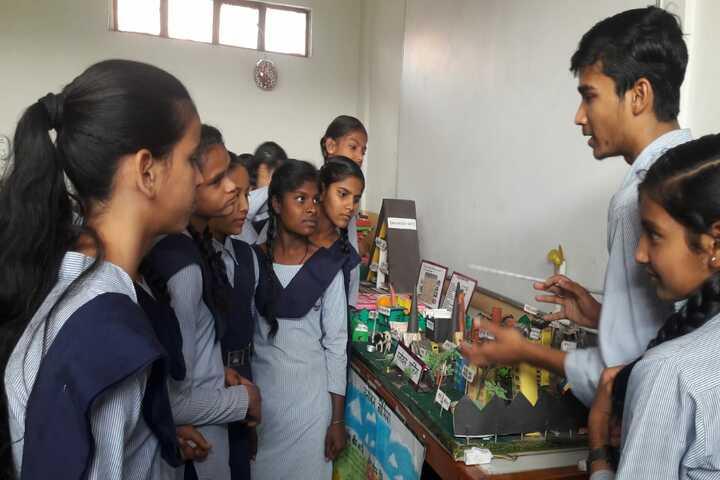 Government High School A Smart School-Science Exhibition