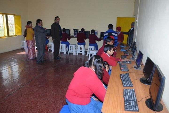 Sir B B Public School-Computer Lab