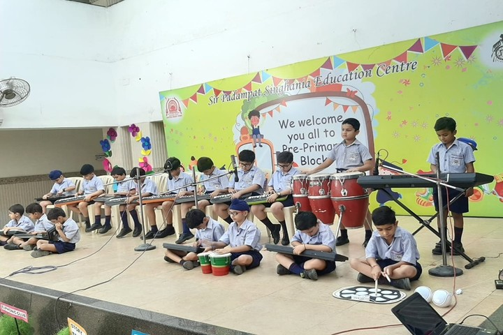 Sir Padampat Singhania Education-Music Competition