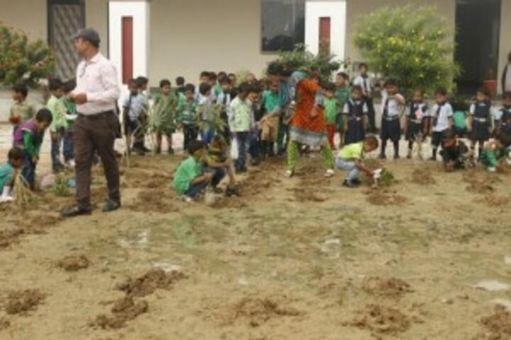 SJP International School-Envirnoment Day