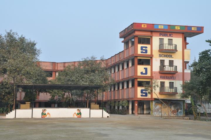 S J S Public School-Campus Front View