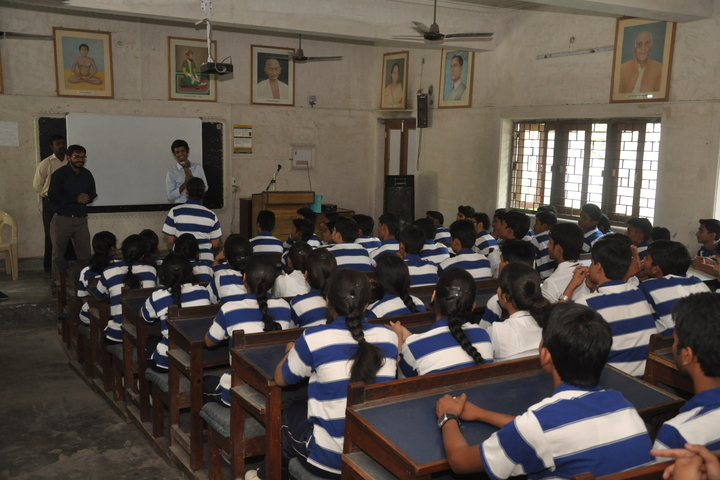S J S Public School-Classroom