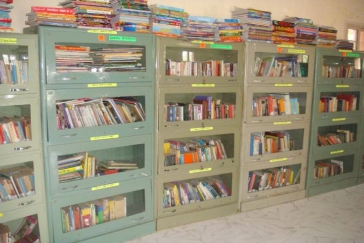 S J S Public School-Library