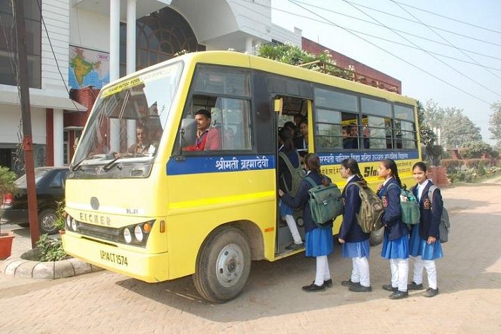 Smt Brahma Devi Saraswati Balika Vidya Mandir-Transport