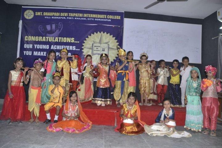 Smt Dhrauapadi Devi Tripathi Kanya-Janamastami Celebrations