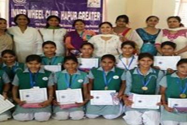 Smt. Kamla Agarwal Girls Public School-Prize distribution