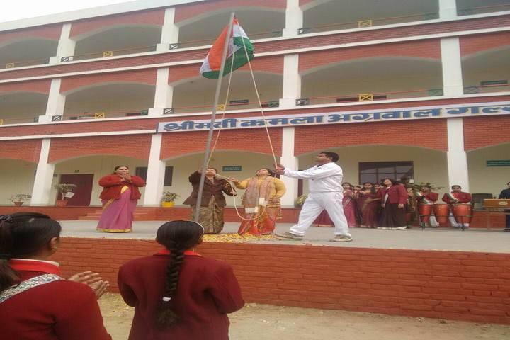 Smt. Kamla Agarwal Girls Public School-republic Day