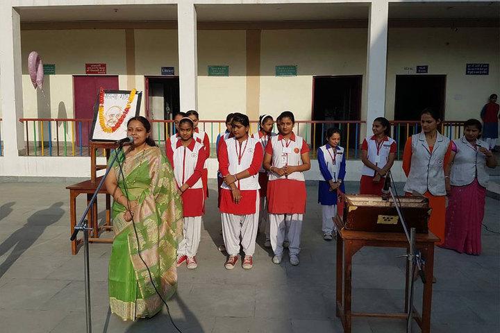 Smt. Kamla Agarwal Public School-Gandhi Jayanthi