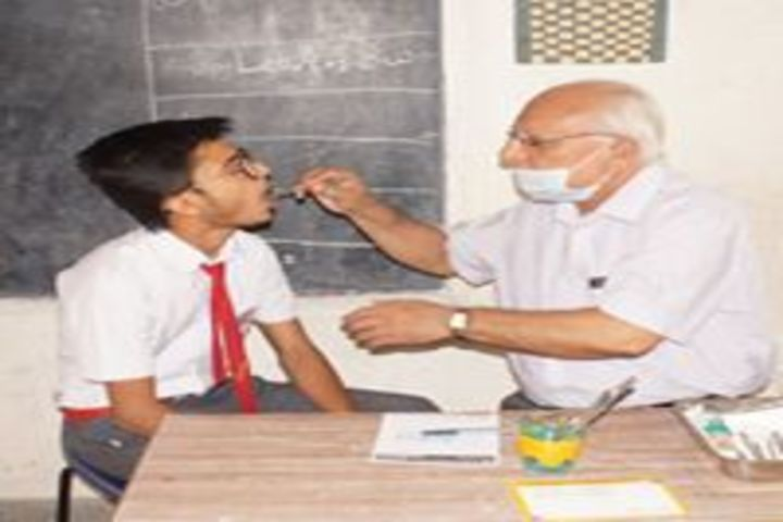 Smt. Kamla Agarwal Public School-Health Check Up