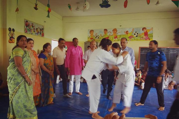 Smt. Kamla Agarwal Public School-Judo Competition