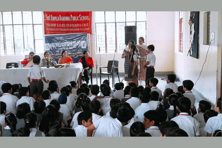 Smt. Kamla Agarwal Public School-Speach