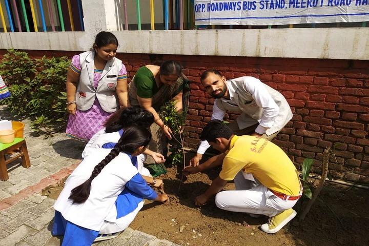 Smt. Kamla Agarwal Public School-Earth Day