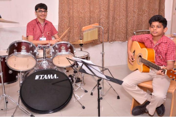 Somerville International School-Music Class