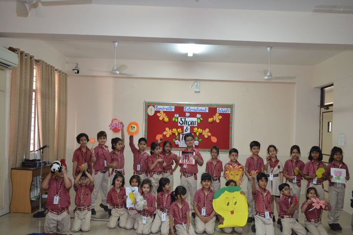 Somerville International School-Show and Tell Activity