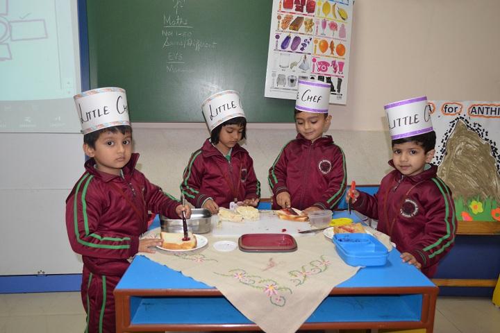 Somerville International School-Little Cheffs Activity