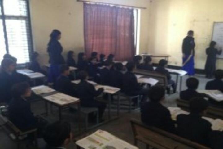 Sondevi Vidya Niketan-Classroom