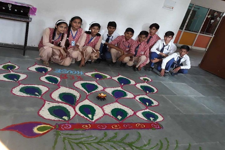 Spring Field Academy-Rangoli