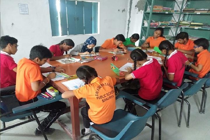Sri Krishan Sagar Public School-Library
