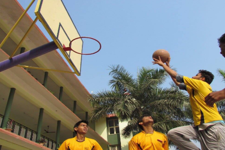St Francis Mission School-Basket Ball